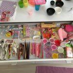 カップボードの引き出し整理!IKEAのトレイでスッキリ綺麗に 大満足の仕上がり。