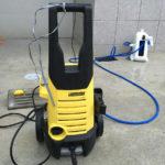 【口コミ】駐車場のコケ掃除には高圧洗浄機ケルヒャーが超おすすめ!